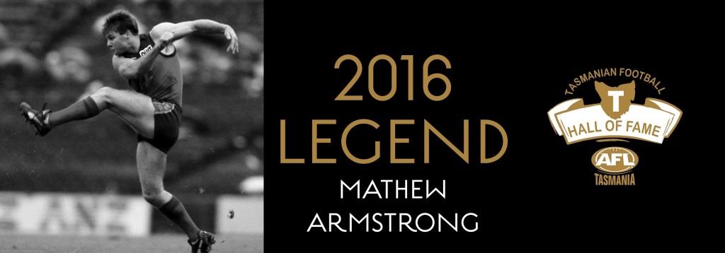 Web banner LEGEND Mathew Armstrong