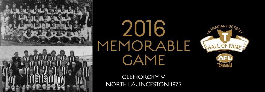 Web banner MEMORABLE GAME Glenorchy v North Launceston